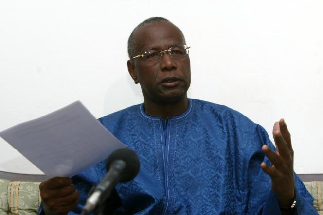 Abdoulaye Bathily, 69 ans, ici en 2007, représentant spécial du secrétaire général des Nations Unies Ban Ki-moon pour l'Afrique centrale, bat bat désormais campagne pour prendre la tête de la présidence de la commission de l'Union africaine.