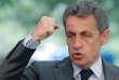 Nicolas Sarkozy, président des Republicains, s'adresse à des militants du mouvement lors d'une fête champêtre organisée par la section du Bas-Rhin, à l'étang de pêche deBrumath, le samedi 9juillet.
