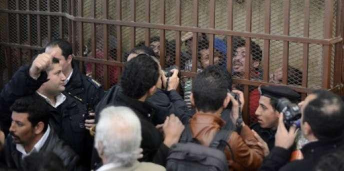 Le 12 janvier 2015, 26 hommes accusés de «débauche» ont été acquittés au Caire.