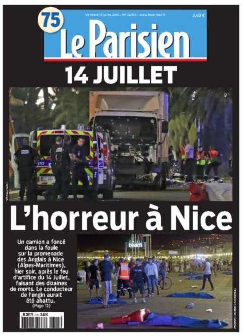 Le quotidien« Le Parisien».