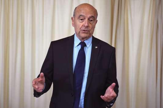 Alain Juppé, candidat à la primaire de la droite et du centre, en meeting en juillet 2016.