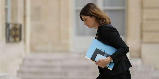 Juliette Méadel, la secrétaire d'Etat chargée de l'aide aux victimes, à l'Elysée le 16 juillet 2016.