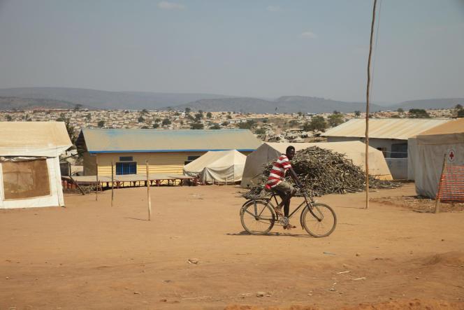 Le camp de réfugiés de Mahama (sud-est du Rwanda), le 14 juillet 2016. L'ONG Refugees International a fait état de recrutements forcés par la rébellion armée burundaise dans le camp, effectués en présence et avec l'aide d'officiers rwandais.
