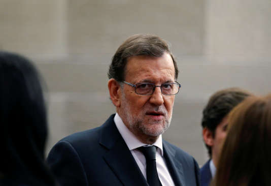 Le premier ministre espagnol sortant, le conservateur Mariano Rajoy, le 15juillet, à Madrid.
