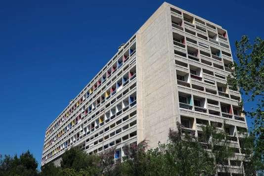 La Cité radieuse, à Marseille, est l'un des sites de Le Corbusier inscrits au patrimoine mondial de l'Unesco, dimanche 17 juillet.