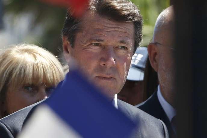 Christian Estrosi, à Nice samedi 16juillet.