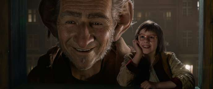 «Le BGG - Le Bon Gros Géant»,de Steven Spielberg.