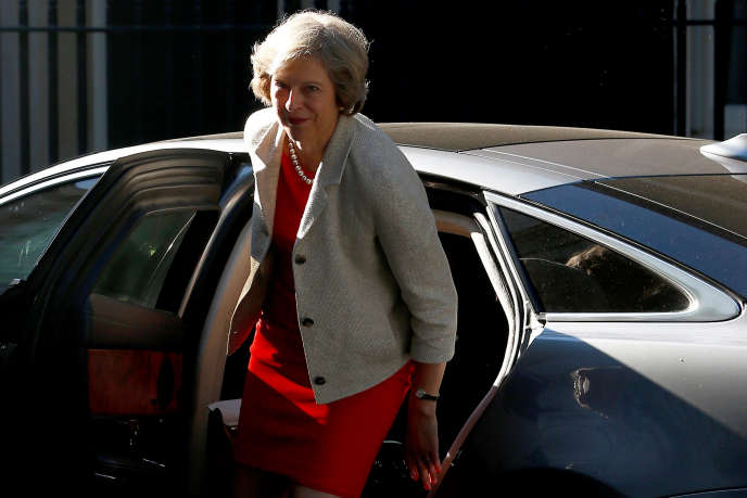 Theresa May arrive à Downing Street, à Londres, le18juillet.