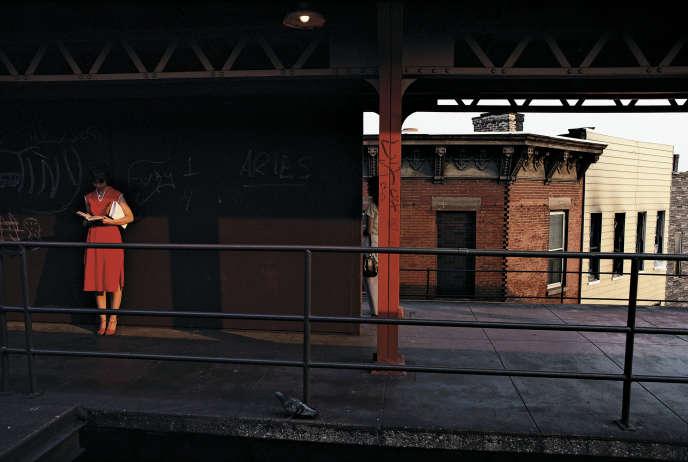 Photographie extraite de la série «Subway» (1980), deBruce Davidson.