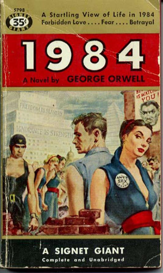 La couverture de l'édition originale de« 1984».