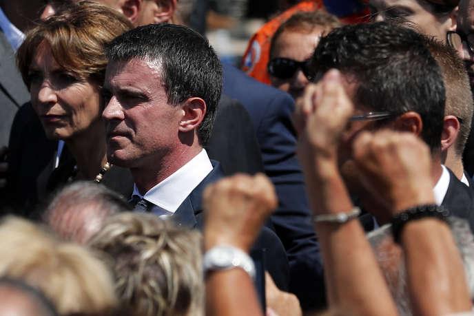 Lundi 18juillet, Manuel Valls s'est fait siffler lors de l'hommage aux victimes qui s'est tenu sur la promenade des Anglais.