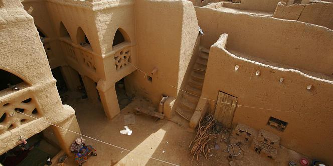 La ville ancienne de Djenné, au Mali, classée «en péril» par l'Unesco en 2016.