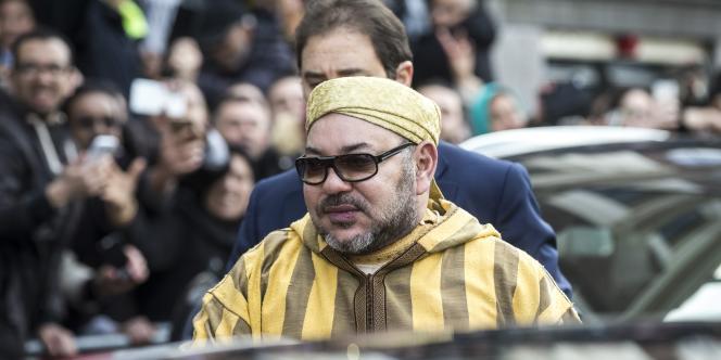 Le roi Mohammed VI le 30 mars 2016, à Amsterdam.