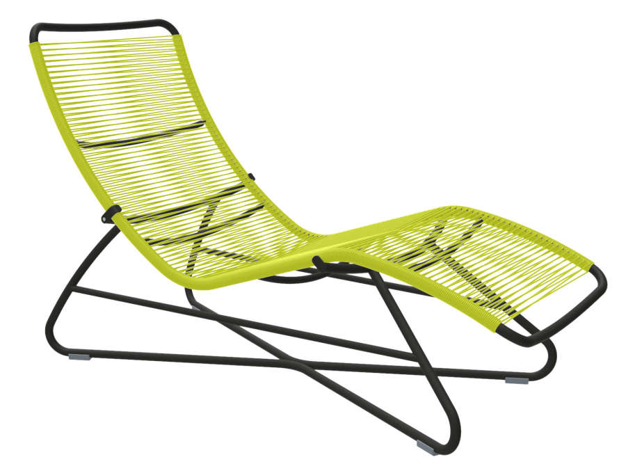 D stresser sur des transats tress s - Fil scoubidou pour chaise ...