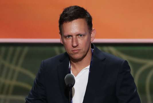 Peter Thiel, héros de science-fiction.