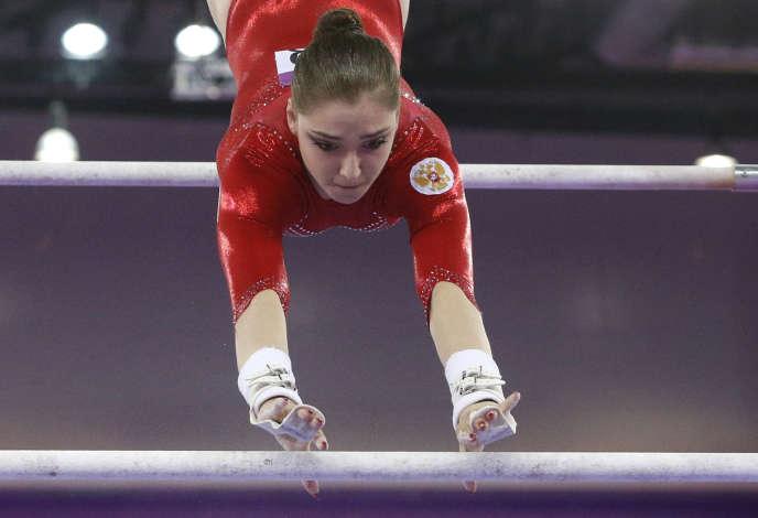La gymnaste Aliya Mustafina pourrait être privée de JO, comme toute la délégation russe.