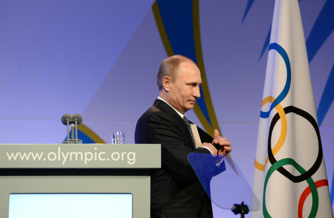 Vladimir Poutine, à Sotchi, en 2014.