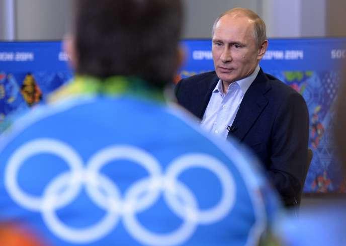 Vladimir Poutine le 19 juillet à Sotchi.