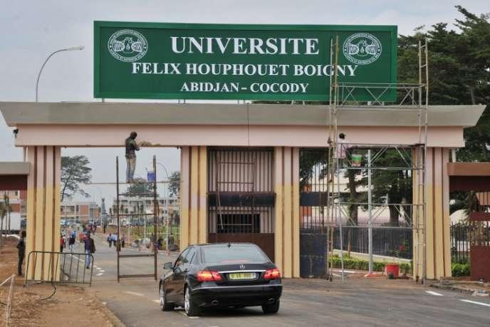 La faculté d'Abidjan, en 2012.