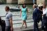 Anne Hidalgo, maire PSde la capitale, à Paris Plages, le 20 juillet.