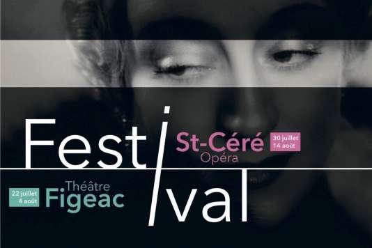 Affiche du Festival de Saint-Céré.