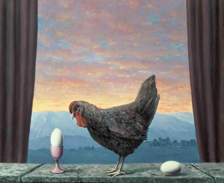 «C'est un abysse philosophique que Magritte déploie sous nos yeux, illustrant la logique implacable qui associe le début de toute chose à sa fin.»