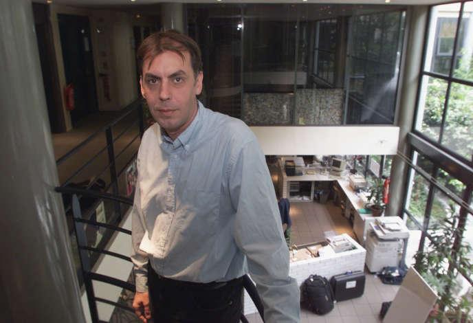 Jean-Hervé Bradol, en mai 2000, à Paris.