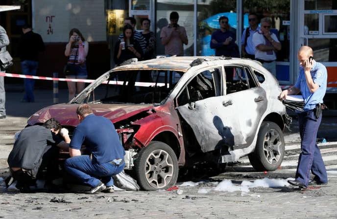 Le journaliste Pavel Cheremet est mort à Kiev, mercredi matin 20 juillet, dans l'explosion de la voiture qu'il conduisait.
