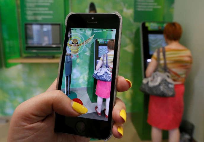 Le jeu «Pokémon GO»le 20 juillet en Russie.