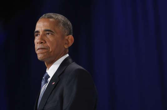 Barack Obama en juillet 2016.