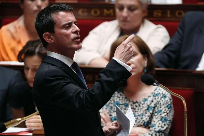 Manuel Valls, le 20 juillet.