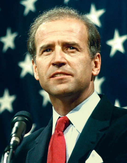 L'actuel vice-président des Etats-Unis, Joe Biden, en 1988.