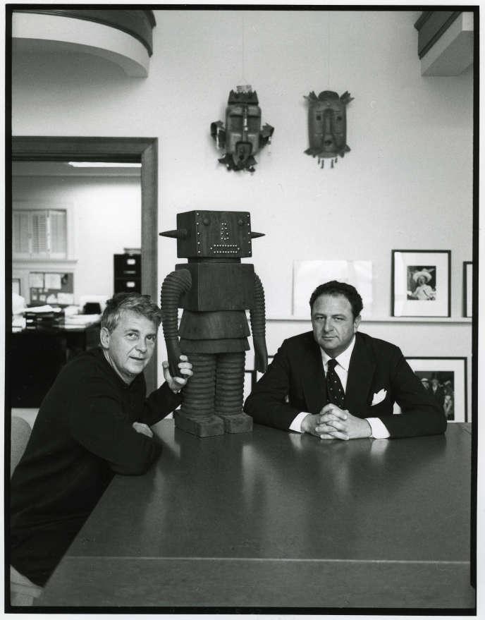 André Magnin et JeanPigozzi, New York, 1997