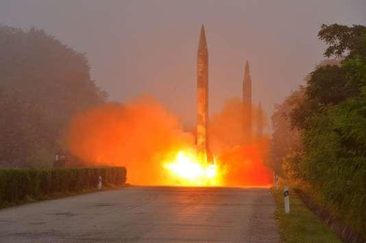 La Corée du Nord développe un programme de missile intercontinental qui pourrait atteindre les Etats-Unis.