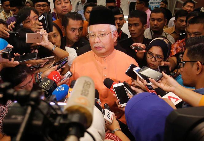 Le premier ministre malaisien, Najib Razak, à Kuala Lumpur le 21 juillet.