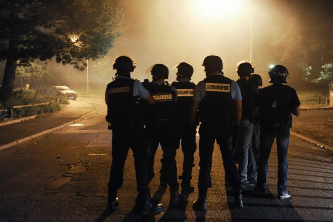 Des affrontements entre jeunes et forces de gendarmerie ont eu le 20 juillet dans la cité Boyenval, à Beaumont-sur-Oise, où habitait Adama Traoré.