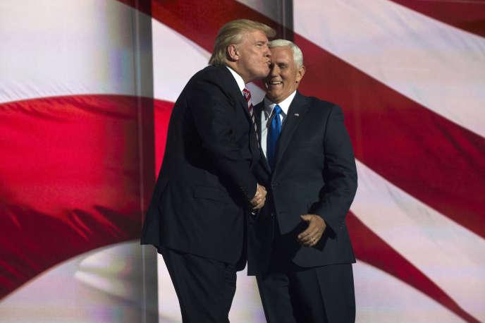 Donald Trump et Mike Pence.