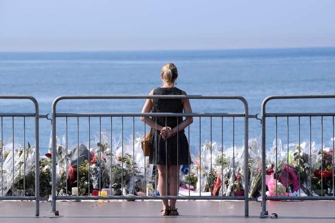 La promenade des Anglais, à Nice, le 19 juillet.
