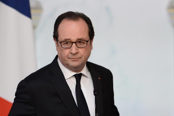 François Hollande le 22 juillet 2016.