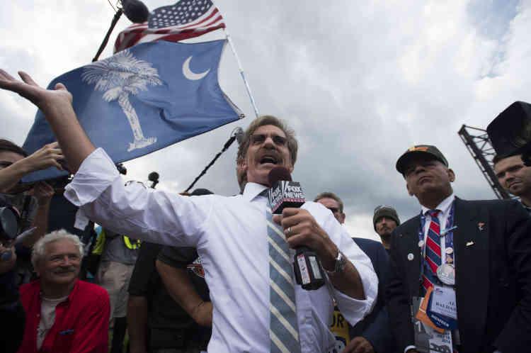 Des partisans de Donald Trump, à Cleveland (Ohio), le 18 juillet.