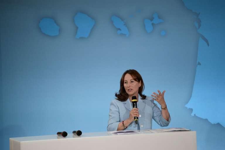 La ministre de l'environnement Ségolène Royal, à Paris, le 22 juillet.