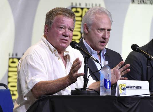 William Shatner, héros du « Star Trek» original, était présent au Comic Con pour un panel sur le cinquentième anniversaire de la série.