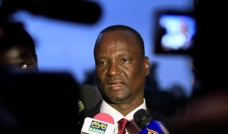 Le général Taban Deng (ici en janvier 2014) a été nommé vice-président du Soudan du Sud à la place de Riek Machar, le 25 juillet 2016.