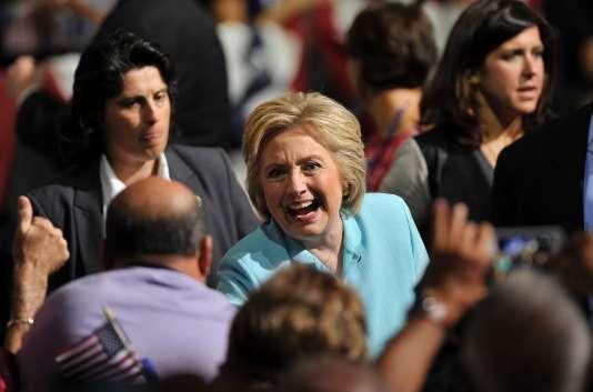 Hillary Clinton, le 23 juillet en Floride.