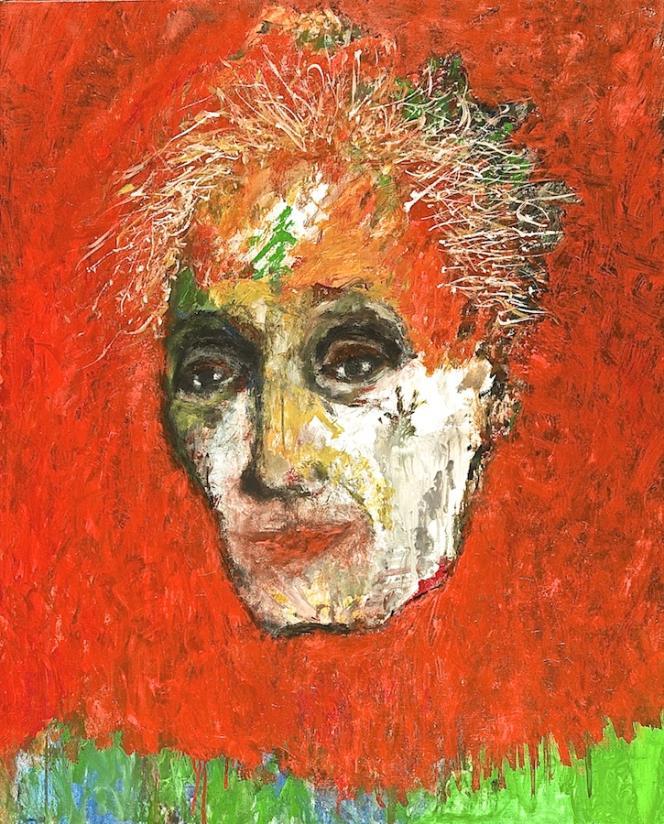 « C'est moi», 2015, huile sur toile de Bernard Dufour. 81X65 cm.