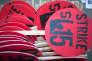 Manifestation de salariés réclamant un salaire horaire minimum de 15$,le 14 avril 2016à Chicago (Etats-Unis).