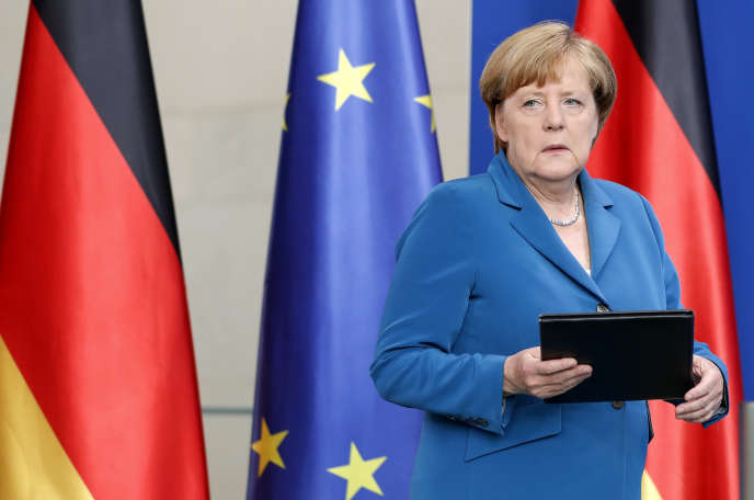 La chancelière allemande, Angela Merkel, le 23 juillet 2016.