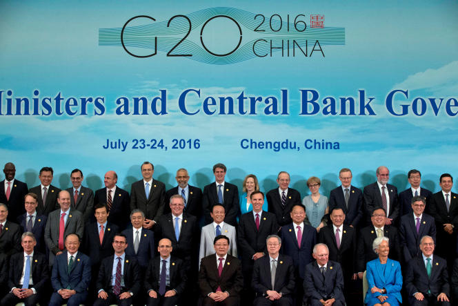 «Des travaux sont par exemple en cours à l'OCDE et au G20 concernant les transactions internationales à caractère numérique, en particulier les règles comptables appliquées pour déterminer la localisation de la propriété intellectuelle et le lieu de comptabilisation de la valeur ajoutée» (Photo: en juillet 2016 à Chengdu, en Chine).