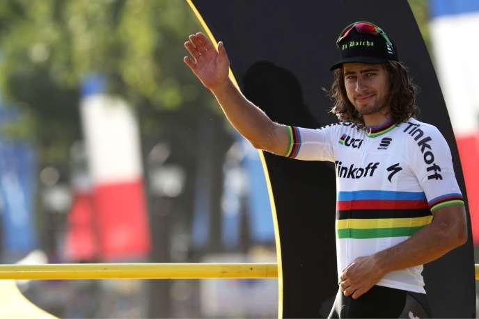 Le champion du monde slovaque rejoint l'équipe Bora Hansgrohe.