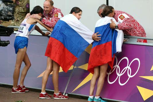 Pour l'heure, seuls les athlètes russes sont privés de Jeux olympiques.